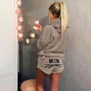 Other - Cozy Kitty Cat MEOW Pajama Set